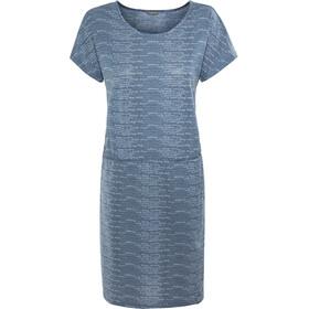 Meru Lille Drirelease Dress Dam dark petrol